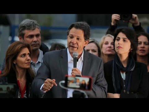 Brasil: PT confia missão difícil a Fernando Haddad