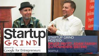 bruce pavitt adam farish co founders 8stem at startup grind seattle