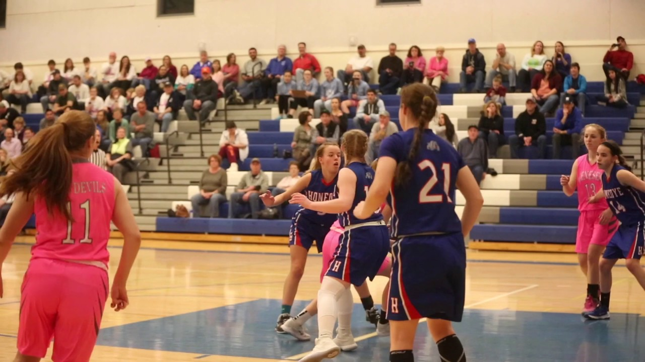WATCH NOW: The Geneseo Central girls varsity basketball team defeated Honeoye 55…