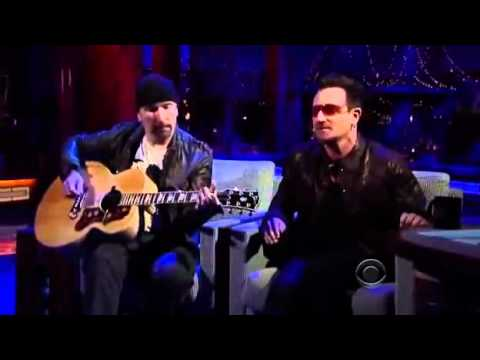 Bono And The Edge Stuck In A Moment Live Letterman 2011. Part 2...ALE
