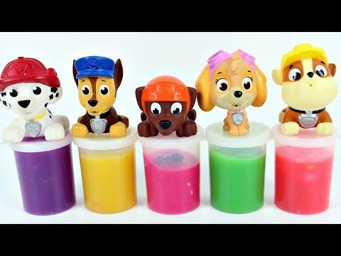 PATRULHA CANINA Learn Colors Paw Patrol Amoebas Surpresas Canal KidsToyShow