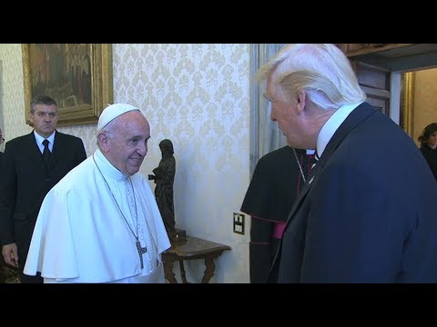 Pope asks Donald Trump to work to build peace