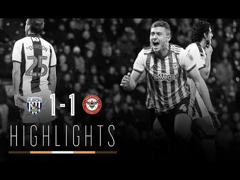 Match Highlights: West Bromwich Albion 1 Brentford 1