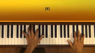 Yanni The End Of August Piano Tutorial Half Tempo