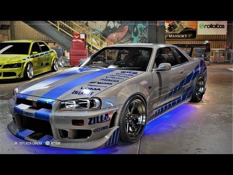 NFS Payback Custom GTR Fast And Furious 2