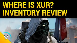 Taken King Xur Review: Location & Recommendations (Nov 20)
