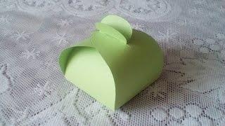 DIY : Бонбоньерка на День Рождения своими руками *** Поделки из бумаги *** Конфетница за 5 минут