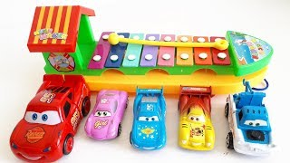 Toy Review Play with cars toys and Xylophone Musical Toys Video for Kids