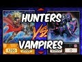 Yugioh HUNTERS vs VAMPIRES - Magical Musketeers vs Vampires (YU-GI-OH! Themed Decks)