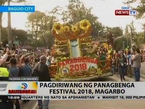 BT: Pagdiriwang ng Panagbenga Festival 2018, magarbo