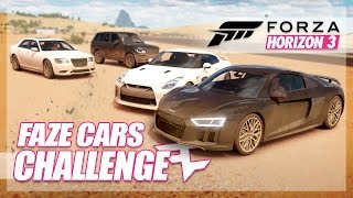 Forza Horizon 3 - FaZe Cars Challenge (FaZe Rain, Rug, Adapt, Censor, and More!)