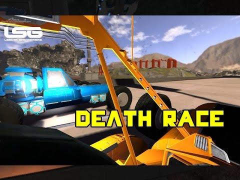 Space Engineers - Death Race Car Challenge |