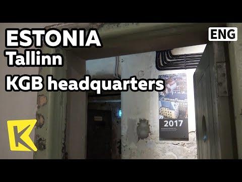 【K】Estonia Travel-Tallinn[에스토니아 여행-탈린]KGB의 본부/KGB/Headquarters/Prison/Jail/Minister of Defense