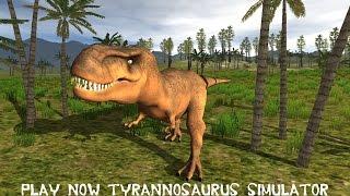Tyrannosaurus Rex simulator Android Gameplay