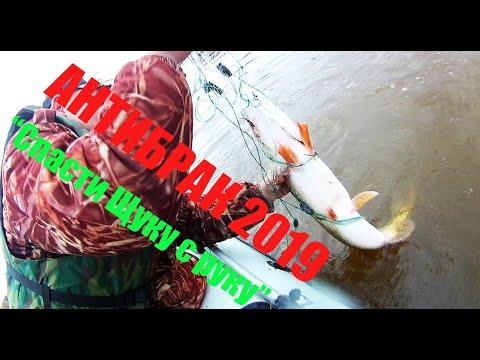 Рейд Антибрак 2019!Спасаем рыбу!Режем сети!Вятка!