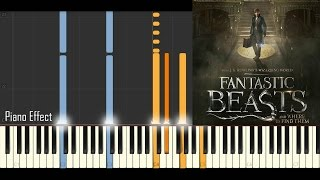 Fantastic Beast And Where To Find Them Main Theme Piano Tutorial Synthesia