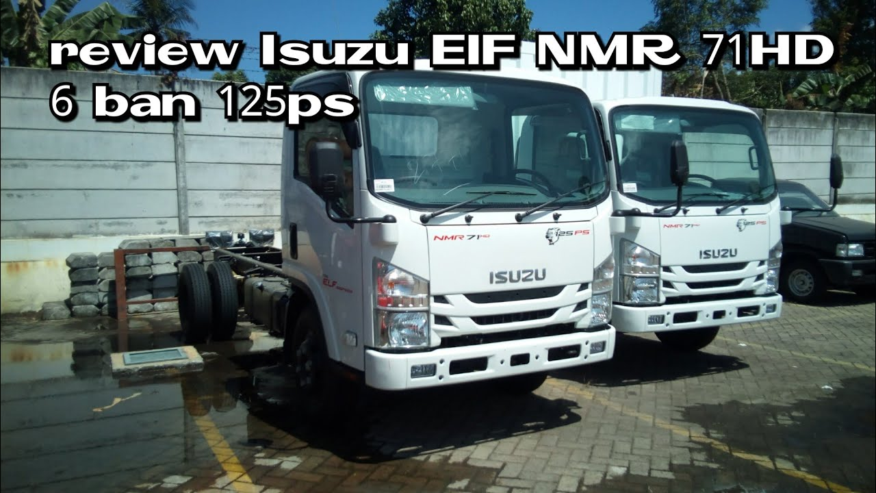 Review Isuzu Elf seri NMR 71 HD 125ps manual 6speed 2018 indonesia