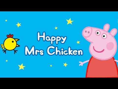 Peppa Pig: Happy Mrs Chicken - Peppa and George are playing Happy Mrs. Chicken - Kids Game