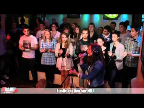 Leslie en live sur NRJ - C'Cauet sur NRJ