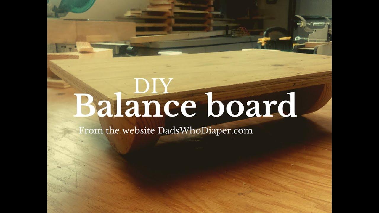 Building A Kids Diy Balance Board In The Woodshop