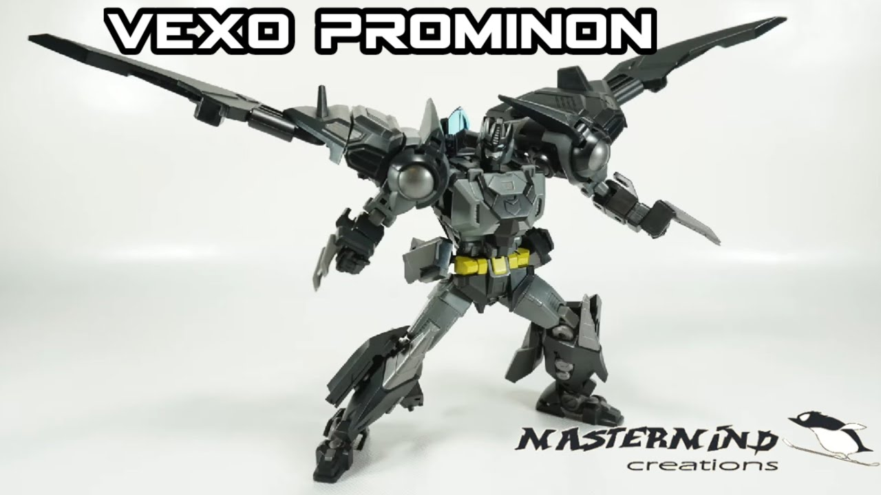 MMC Reformatted R-46 Vexo Prominon In-Hand Review by TMReviews TFCon 2020 Exclusive