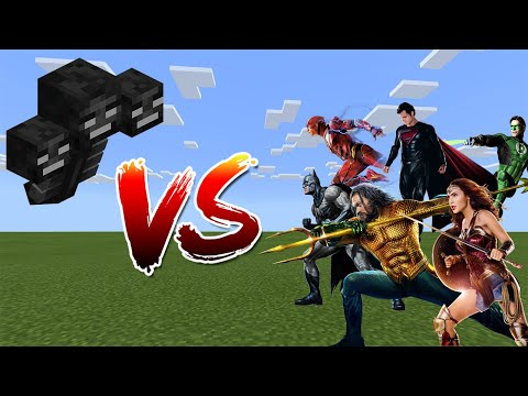 Wither Vs Justice League - Minecraft