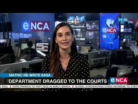 Education Department taken to court