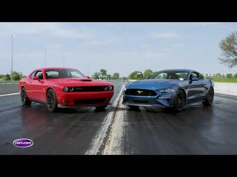 Dodge Challenger R/T Scat Pack 1320 Vs. Ford Mustang GT: Drag-Strip Tested — Cars.com