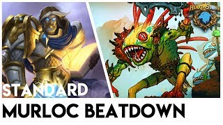 MURLOC BEATDOWN | HEARTHSTONE WITCHWOOD POST NERF PATCH 11.1