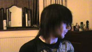 andy sixx hair and make up how to : part 2