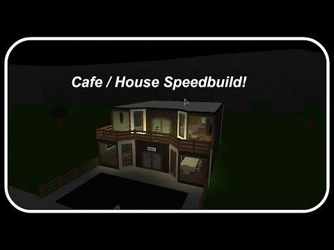 Roblox   Bloxburg Speedbuilds   Ep.11 - Cafe/Home