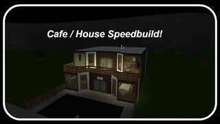 Roblox | Bloxburg Speedbuilds | Ep.11 - Cafe/Home
