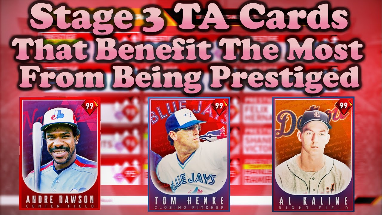 TOP 10 PRESTIGE DIAMONDS THAT OFFER THE BEST IMPROVEMENTS (Stage 3 Team Affinity) [MLB The Show 20]
