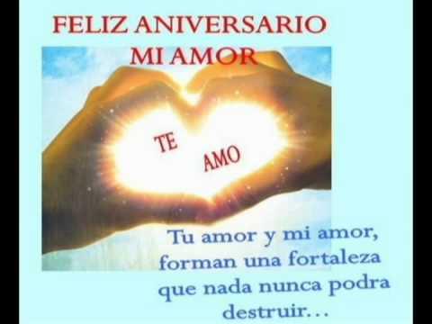 Conosciuto Feliz aniversario de matrimonio n° 7 - YouTube BG22