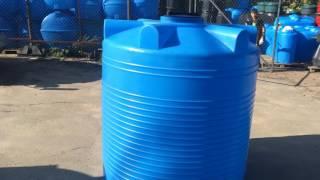 - 2000 л пластиковый бак для воды серия V - Полимер Групп(Бак пластиковый V-2000. Объем 2000 л. Высота: 1541 мм. Диаметр: 1370 мм. Вес: 47 кг. Изготовлен из пищевого пластика., 2016-09-29T07:10:20.000Z)