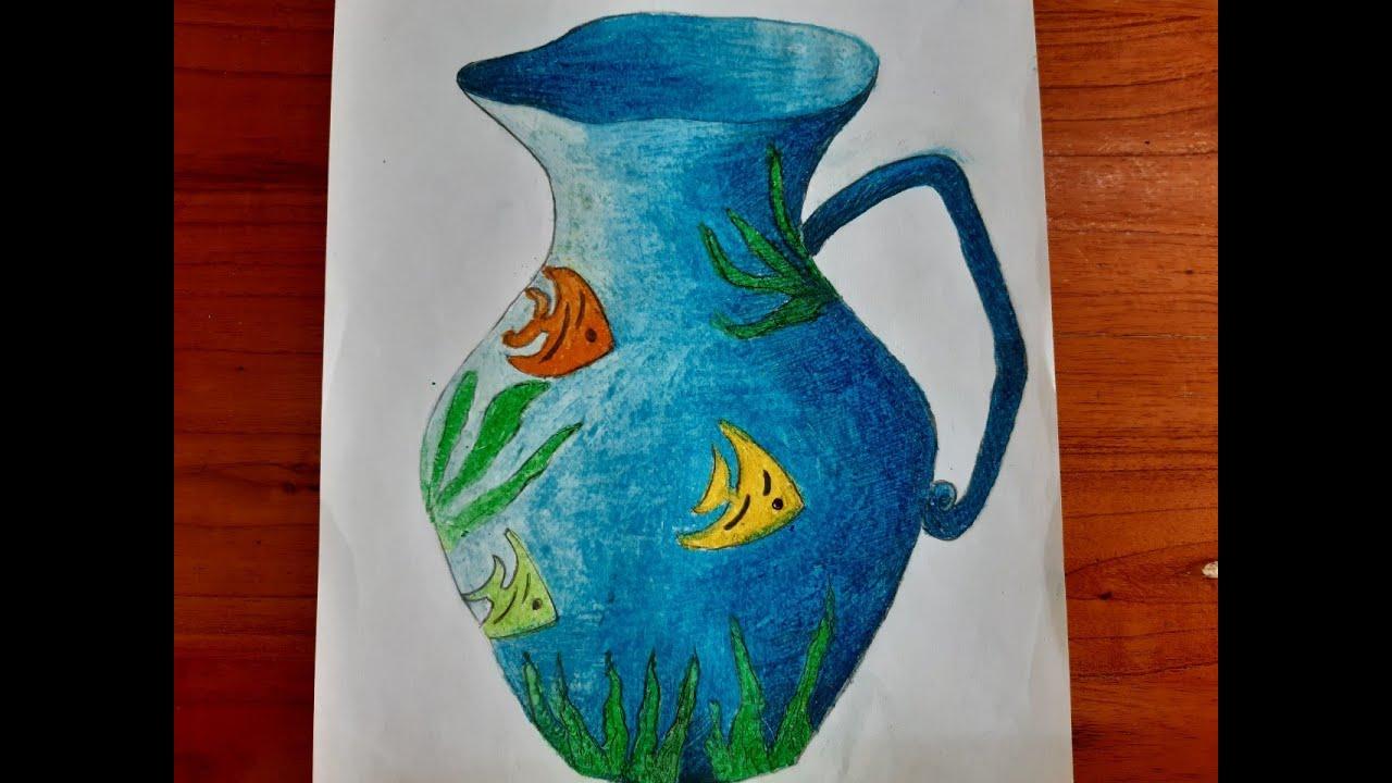 Cách tạo dáng và trang trí LỌ HOA, chậu cảnh / How to shape and decorate the FLOWER, bonsai pots