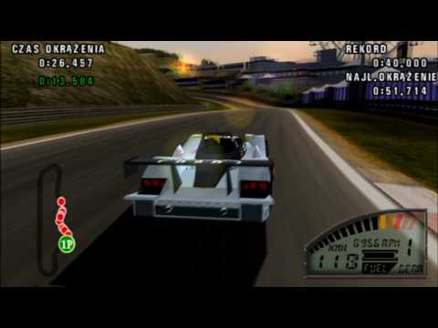LE MANS 24h AUDI R8R GAMEPLAY 16 (HD)