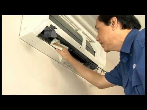 Vệ sinh điều hòa, máy lạnh trong 15 phút - YouTube