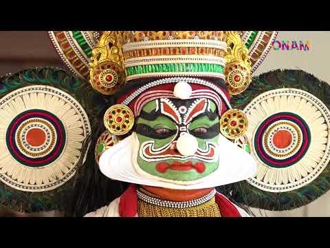 Onam Fest Kerala | Kathakali - YouTube