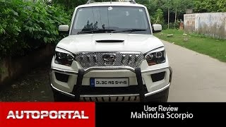 Mahindra Scorpio User Review - 'Perfect SUV' - Auto Portal