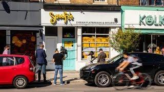 Refugee family closes restaurant over threats