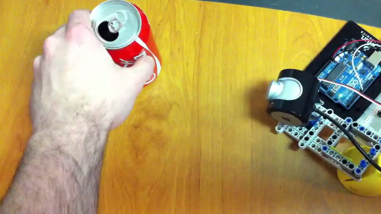 Pan tracking webcam using opencv and arduino doovi