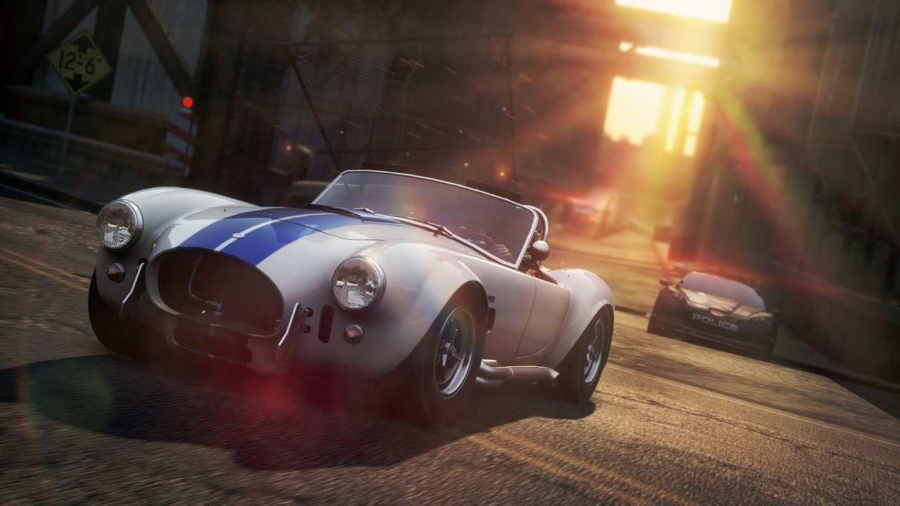 NFS: Most Wanted - Shelby COBRA 427 Get to the Chopper Speed Run ...