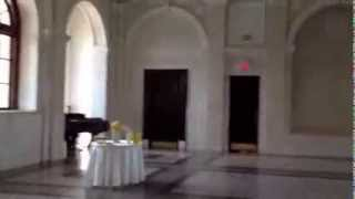Dekalb Historic Courthouse Wedding Officiant Minister Ballroom Wedding for Two -Grand Piano Serenade