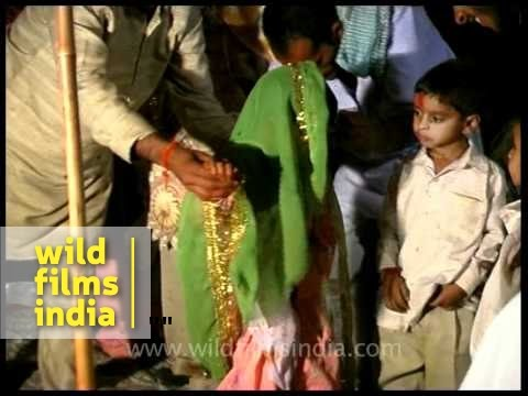 Actual child marriage video from India