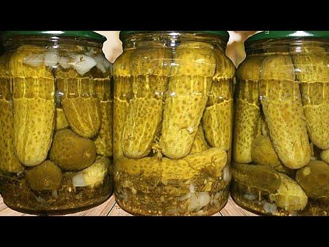 Самый Простой Рецепт Огурцов с уксусом на зиму
