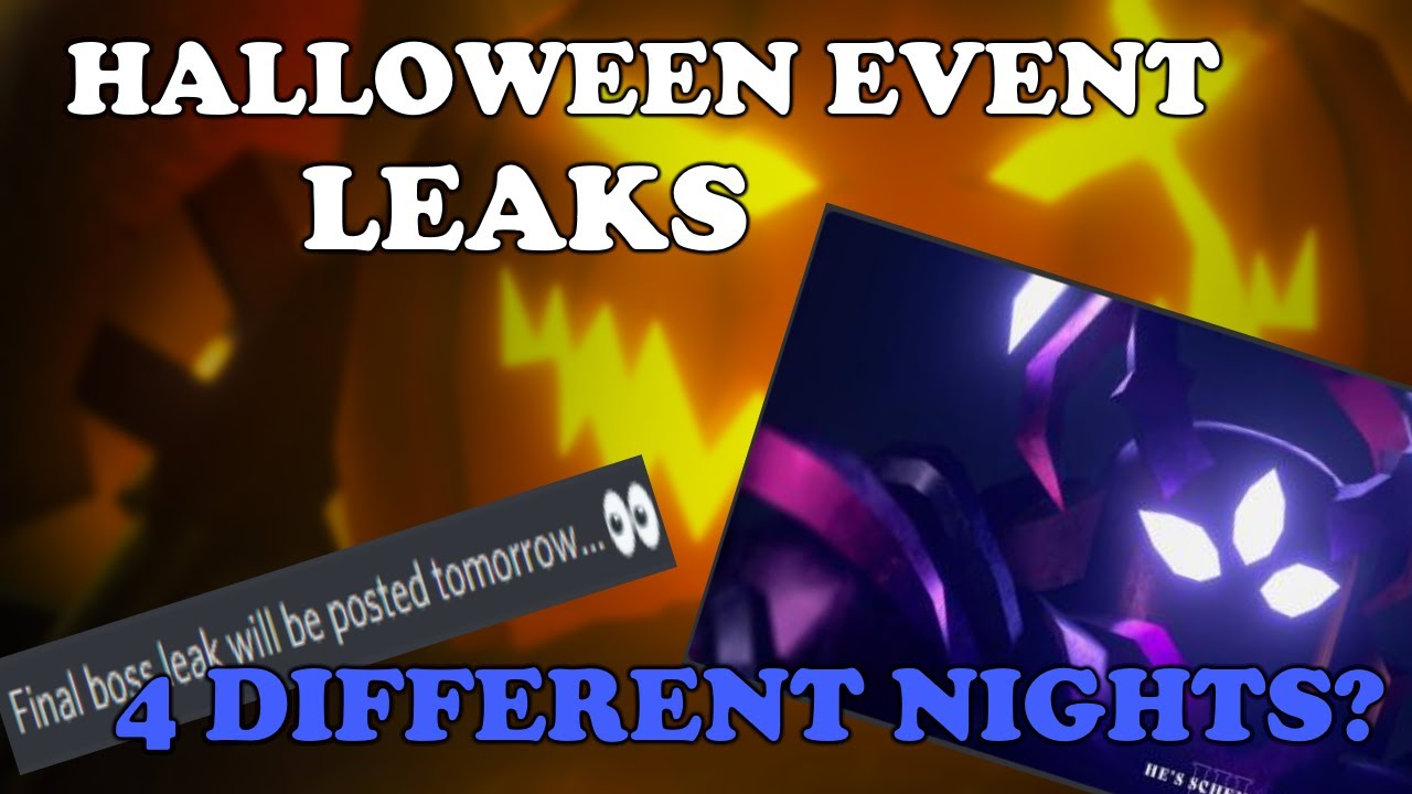 Download NEW Halloween Event Leaks, 4 NIGHTS And 4 BOSSES?    Tower Defense Simulator