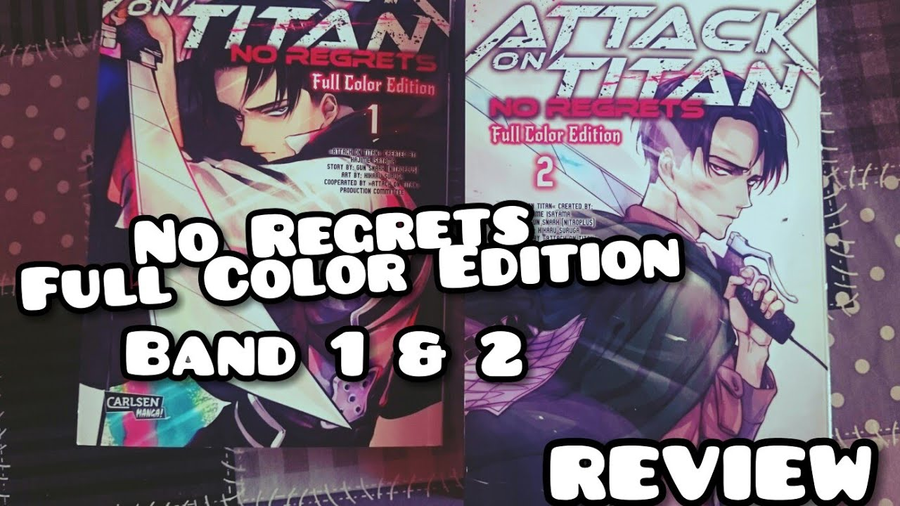 Download *ATTACK ON TITAN - No Regrets - Full Color Edition Band 1 & 2 - REVIEW*