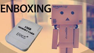 EnBoxing 11 - Carte Mémoire Playstation 1 MB EAXUS