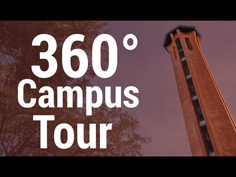 Trinity University 360° Virtual Campus Tour
